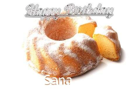 Happy Birthday to You Sana