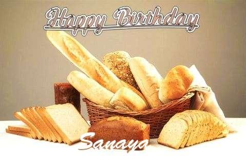 Birthday Wishes with Images of Sanaya