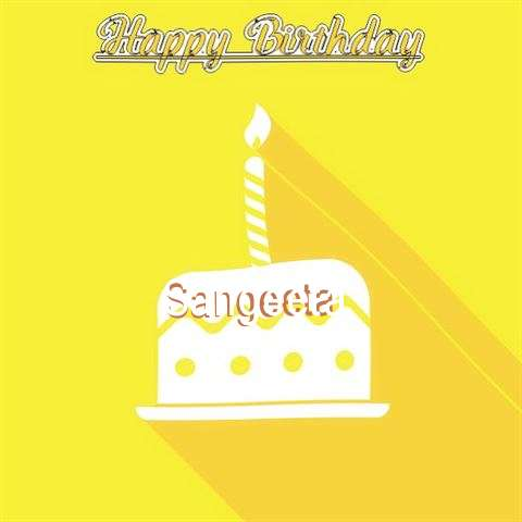 Birthday Images for Sangeeta
