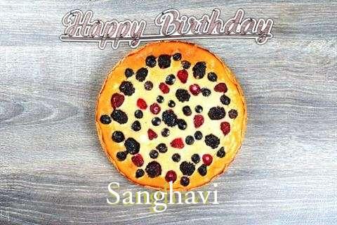 Happy Birthday Cake for Sanghavi