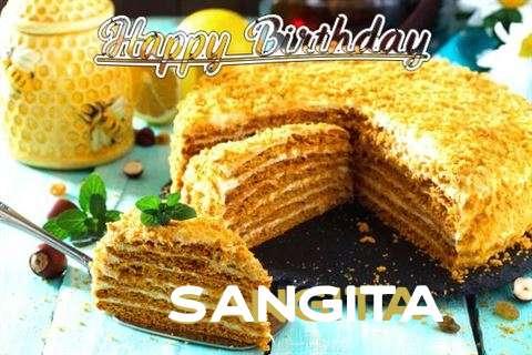 Birthday Wishes with Images of Sangita