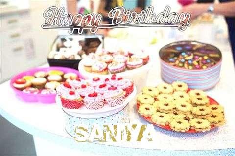 Birthday Wishes with Images of Saniya