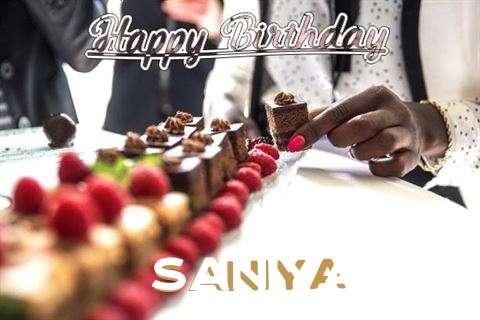 Birthday Images for Saniya