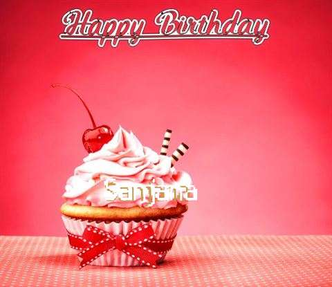 Birthday Images for Sanjana