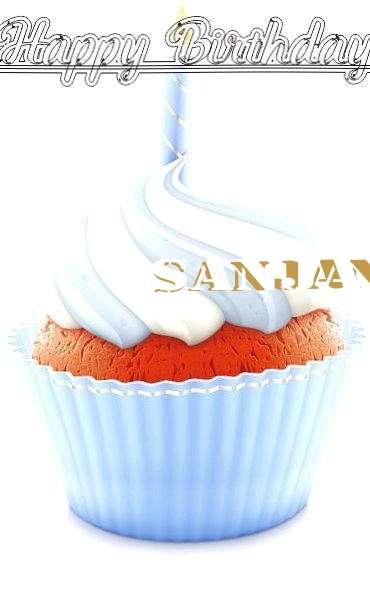 Happy Birthday Wishes for Sanjana
