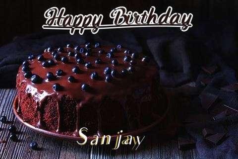Happy Birthday Cake for Sanjay