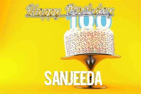 Happy Birthday Wishes for Sanjeeda