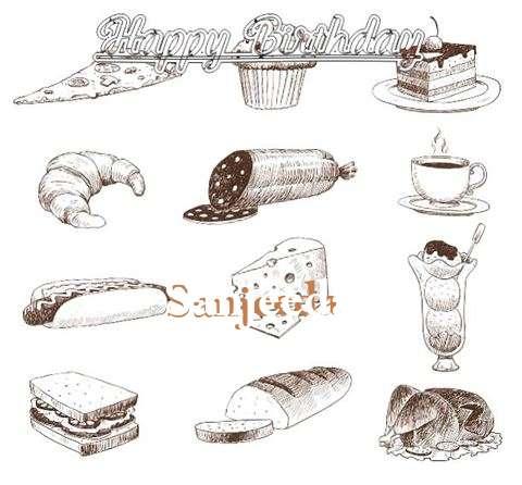 Happy Birthday Cake for Sanjeeda