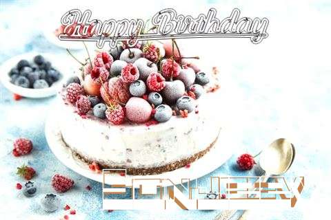 Happy Birthday Cake for Sanjeev