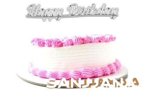 Happy Birthday Wishes for Sanjjanaa