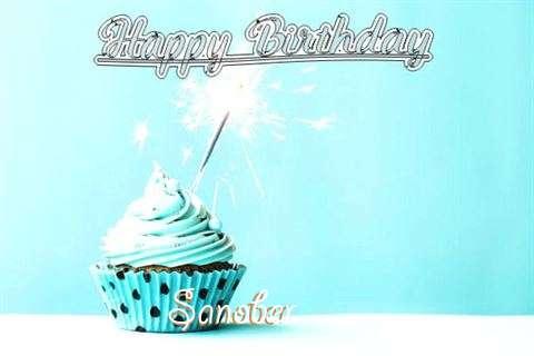 Happy Birthday Cake for Sanober