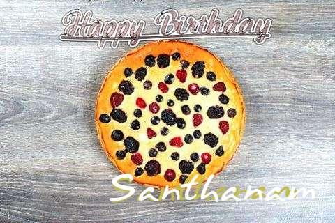 Happy Birthday Cake for Santhanam