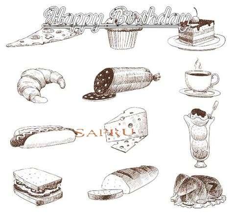 Happy Birthday Cake for Sapru