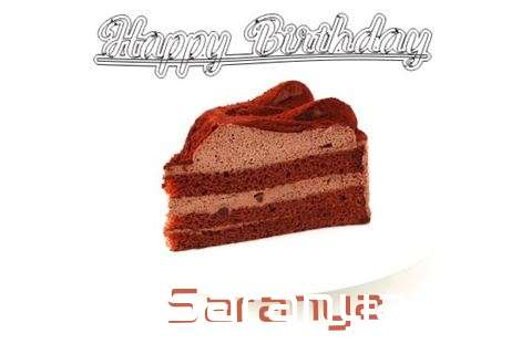 Happy Birthday Wishes for Saranya