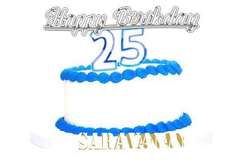Happy Birthday Saravanan Cake Image