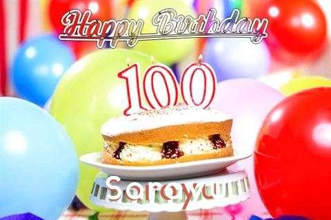 Happy Birthday Sarayu