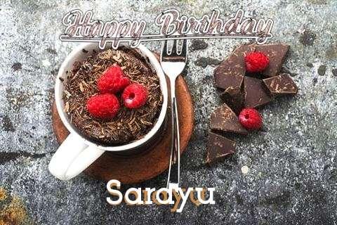 Happy Birthday Wishes for Sarayu