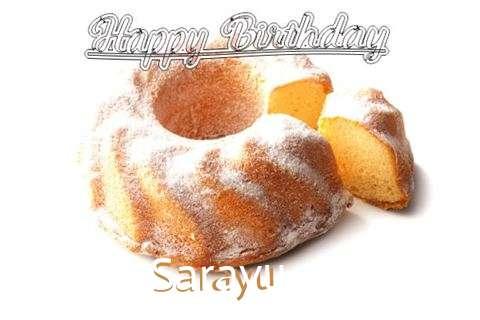 Happy Birthday to You Sarayu