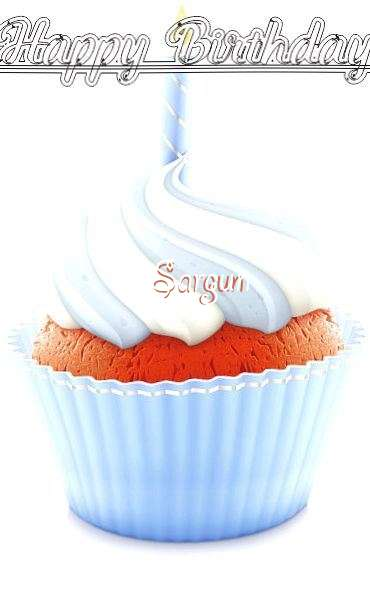 Happy Birthday Wishes for Sargun