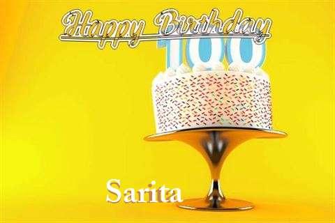 Happy Birthday Wishes for Sarita