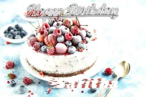 Happy Birthday Cake for Saritha