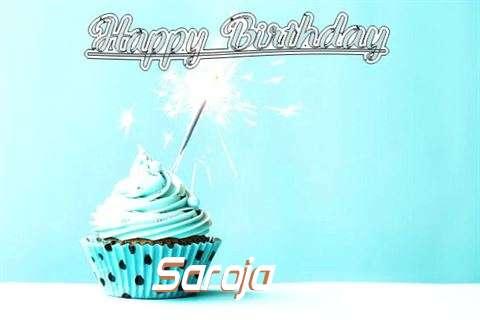 Happy Birthday Cake for Saroja