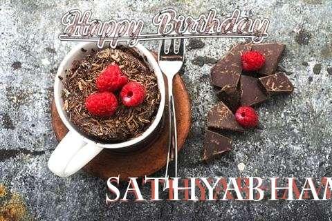 Happy Birthday Wishes for Sathyabhama
