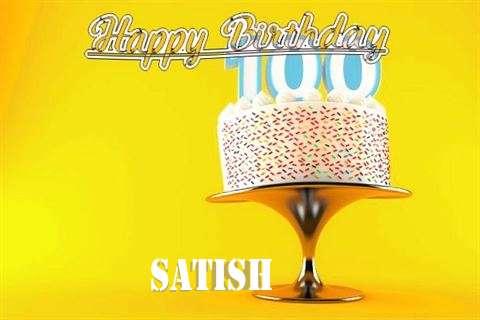 Happy Birthday Wishes for Satish