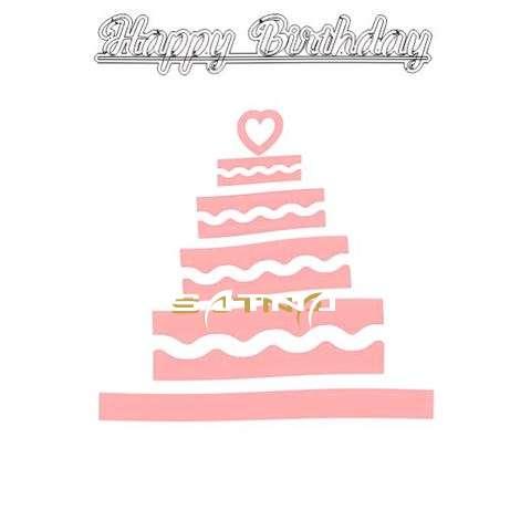 Happy Birthday Satna Cake Image