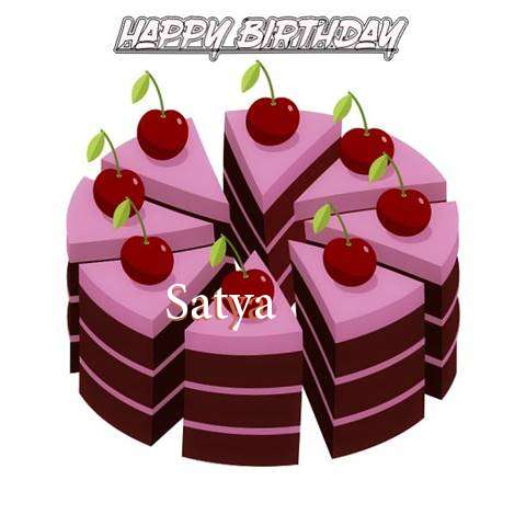 Happy Birthday Cake for Satya