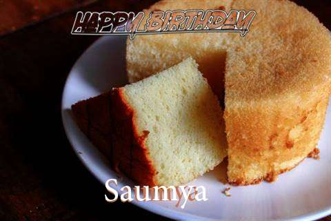 Happy Birthday to You Saumya