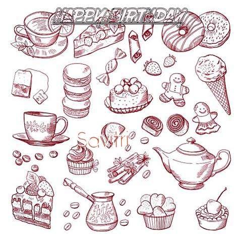 Happy Birthday Wishes for Savitri