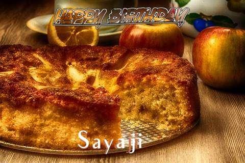 Happy Birthday Wishes for Sayaji