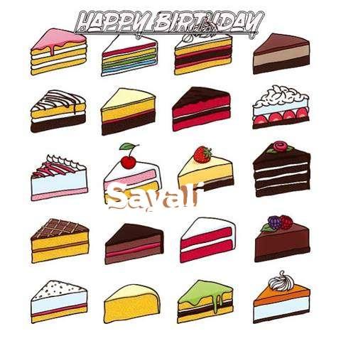 Happy Birthday Cake for Sayali
