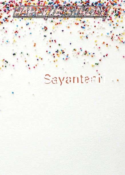 Happy Birthday Sayantani