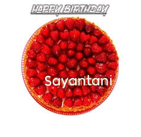 Happy Birthday to You Sayantani