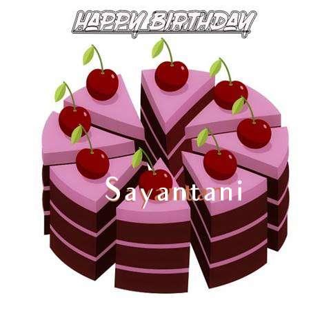 Happy Birthday Cake for Sayantani