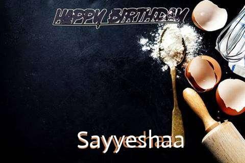Birthday Wishes with Images of Sayyeshaa