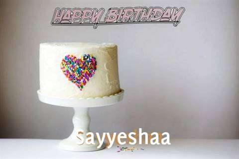 Sayyeshaa Cakes