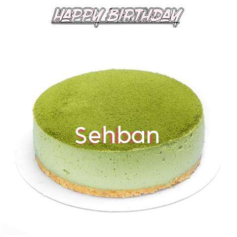 Happy Birthday Cake for Sehban