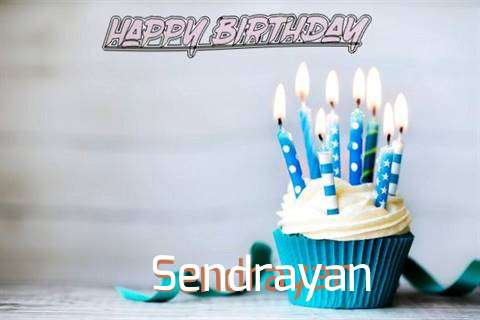 Happy Birthday Sendrayan Cake Image