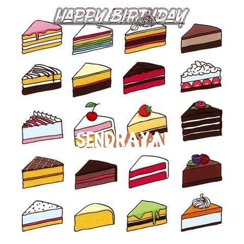 Happy Birthday Cake for Sendrayan