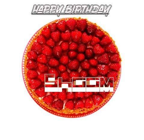 Happy Birthday to You Shaam