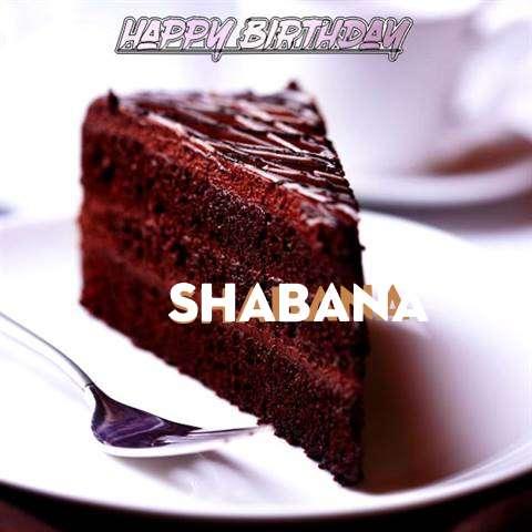 Happy Birthday Shabana