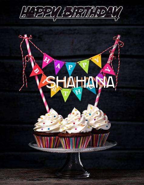 Happy Birthday Shahana