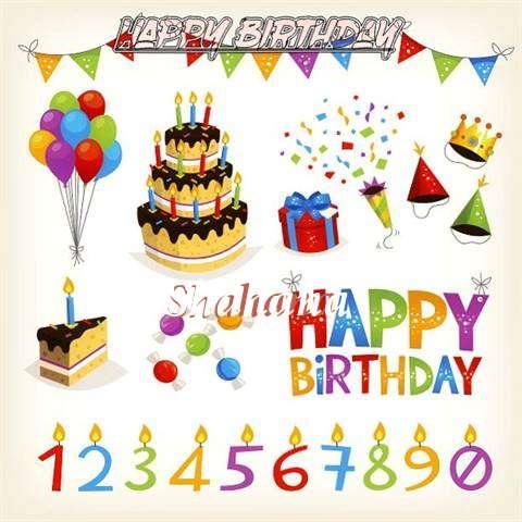 Birthday Images for Shahana