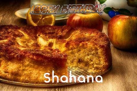 Happy Birthday Wishes for Shahana