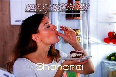 Happy Birthday to You Shahana