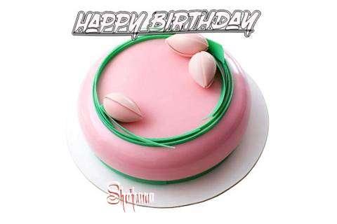 Happy Birthday Cake for Shahana