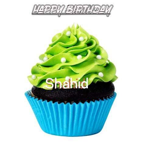 Happy Birthday Shahid